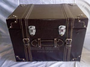 Executive Chocolate Brown Gift Trunks | Arts & Crafts for sale in Lagos State, Surulere