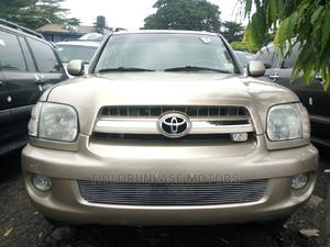Toyota Sequoia 2006 Gold   Cars for sale in Lagos State, Apapa