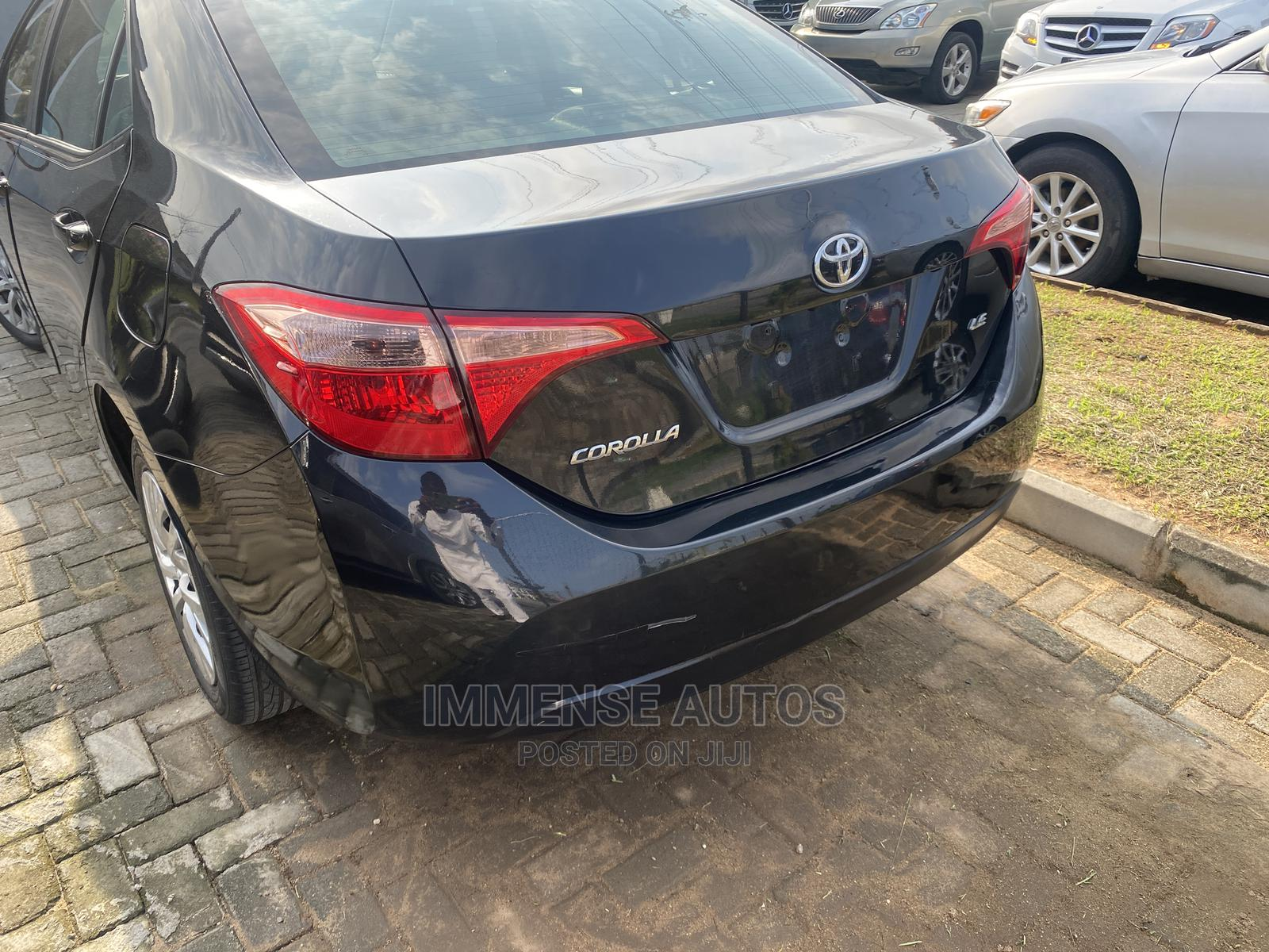 Toyota Corolla 2018 LE (1.8L 4cyl 2A) Gray | Cars for sale in Lekki, Lagos State, Nigeria