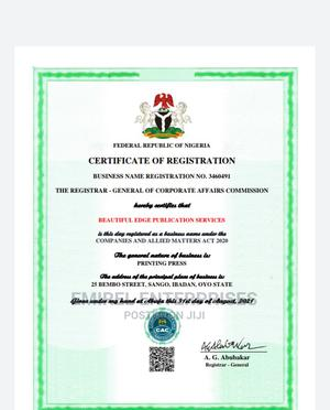 Business Name Registration   Legal Services for sale in Lagos State, Lagos Island (Eko)