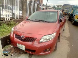 Toyota Corolla 2008 Red | Cars for sale in Lagos State, Yaba