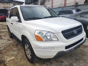 Honda Pilot 2004 EX 4x4 (3.5L 6cyl 5A) White | Cars for sale in Lagos State, Ikeja