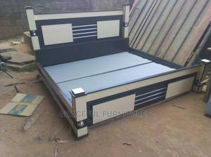 6/6 Bed With One Bed Side | Furniture for sale in Lagos State, Ikeja