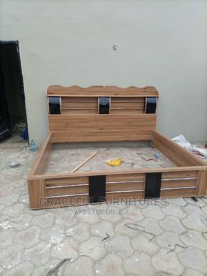6/6 Bed Frame With One Bed Side | Furniture for sale in Lagos State, Ikeja