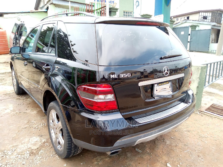 Mercedes-Benz M Class 2008 ML 350 4Matic Black   Cars for sale in Ejigbo, Lagos State, Nigeria