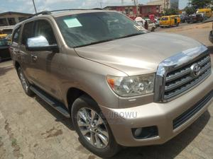 Toyota Sequoia 2008 Gold | Cars for sale in Lagos State, Egbe Idimu