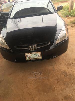 Honda Accord 2005 Black | Cars for sale in Ondo State, Akure