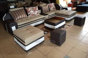 Quality L Shape With Center Table   Furniture for sale in Lagos State, Ikeja