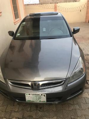 Honda Accord 2007 2.4 Gray   Cars for sale in Lagos State, Ikorodu