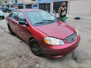 Toyota Corolla 2004 Sedan Red   Cars for sale in Lagos State, Amuwo-Odofin