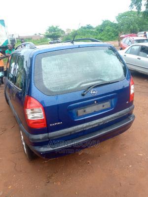 Opel Zafira 2003 Blue | Cars for sale in Ogun State, Ado-Odo/Ota