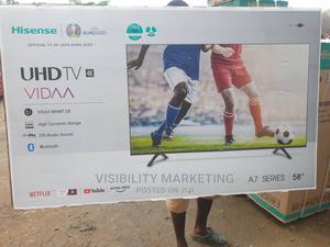 "58"" Hisense 4k Smart TV   A7 Series Smart TV   Netflix TV   TV & DVD Equipment for sale in Abuja (FCT) State, Wuse"