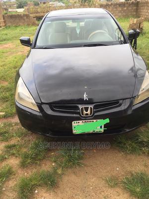 Honda Accord 2004 Automatic Black   Cars for sale in Oyo State, Akinyele