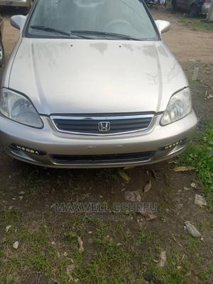 Honda Civic 2000 EX 4dr Sedan Gold | Cars for sale in Kaduna State, Kaduna / Kaduna State