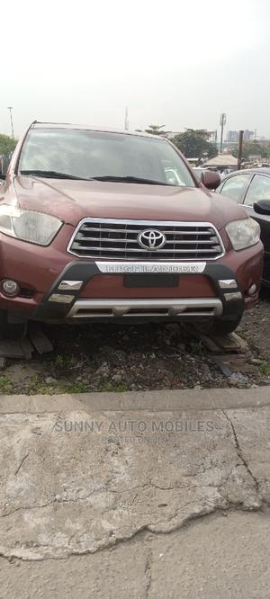 Toyota Highlander 2009 V6 Red | Cars for sale in Lagos State, Apapa