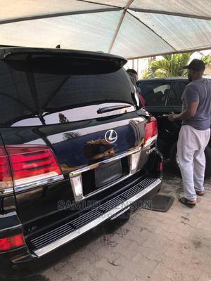 Lexus LX 2015 570 (5 Seats) AWD Black | Cars for sale in Lagos State, Lekki