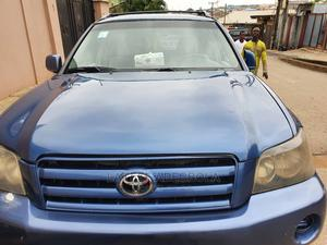 Toyota Highlander 2004 Base AWD Blue | Cars for sale in Lagos State, Magodo
