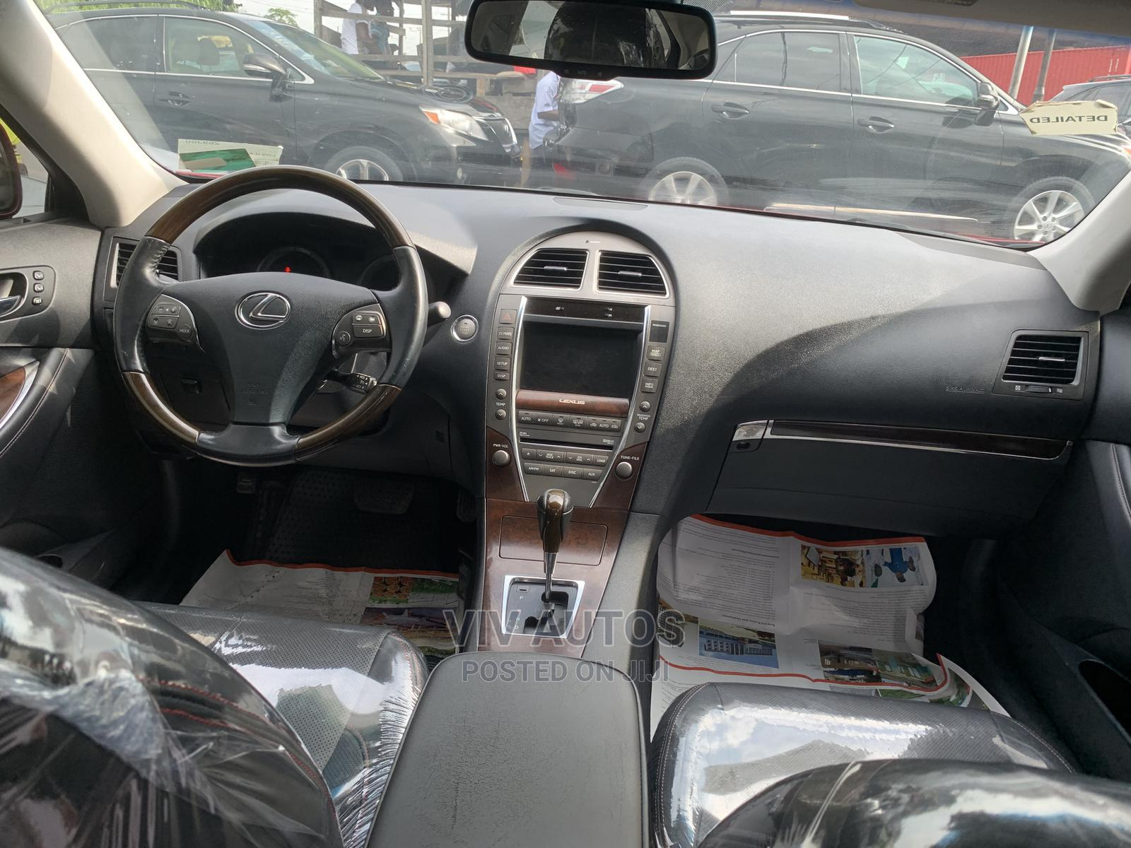 Lexus ES 2011 350 Red | Cars for sale in Apapa, Lagos State, Nigeria