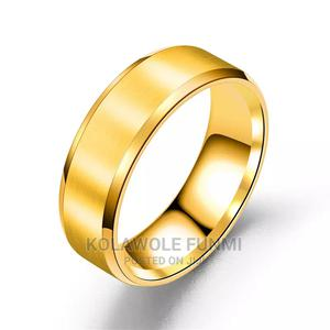 Gold Steel Ring for Men | Wedding Wear & Accessories for sale in Oyo State, Ibadan