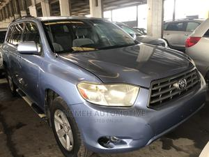 Toyota Highlander 2009 Sport 4x4 Blue | Cars for sale in Lagos State, Apapa