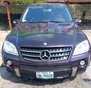 Mercedes-Benz M Class 2007 ML 63 AMG Purple | Cars for sale in Delta State, Warri