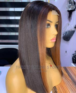 Birthmark Bob Closure Wig Human Hair   Hair Beauty for sale in Lagos State, Yaba
