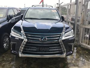 Lexus LX 2017 570 AWD Blue | Cars for sale in Lagos State, Ikeja