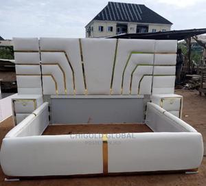 Best Design Bed Frame.   Furniture for sale in Lagos State, Shomolu