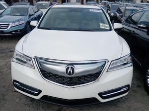 Acura MDX 2014 4dr SUV (3.5L 6cyl 6A) White   Cars for sale in Lagos State, Amuwo-Odofin