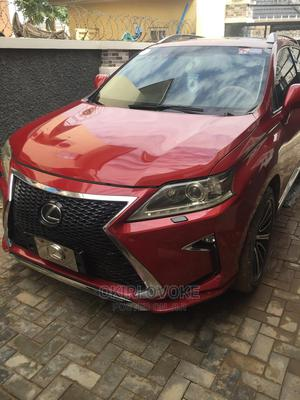 Lexus RX 2010 350 Red | Cars for sale in Abuja (FCT) State, Kubwa