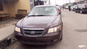 Hyundai Sonata 2007 3.3 V6 GLS Automatic Burgandy | Cars for sale in Lagos State, Surulere