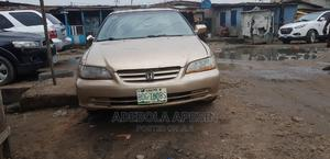 Honda Accord 2002 EX Automatic Gold | Cars for sale in Lagos State, Surulere