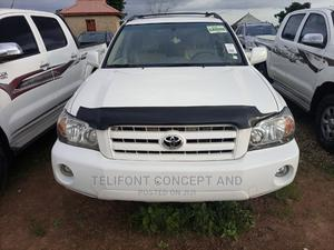 Toyota Highlander 2004 Limited V6 4x4 White | Cars for sale in Abuja (FCT) State, Kubwa