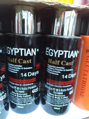 EGYPTIAN Half Cast 14 Days Active Lightening Lotion   Skin Care for sale in Lagos State, Surulere