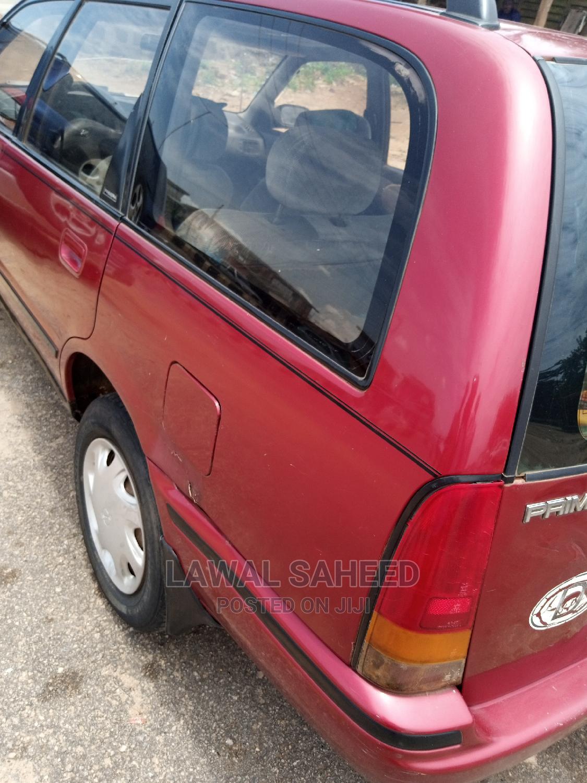 Nissan Primera 2000 Wagon Red   Cars for sale in Osogbo, Osun State, Nigeria
