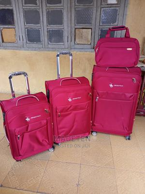 High Quality Trolley |Travel Bag| Travel Luggage| Set of 4 | Bags for sale in Lagos State, Ikeja