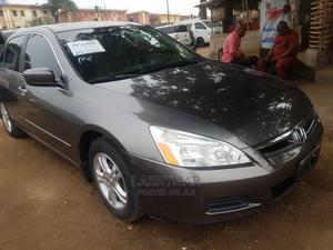 Honda Accord 2007 2.0 Comfort Automatic Gray | Cars for sale in Lagos State, Ejigbo