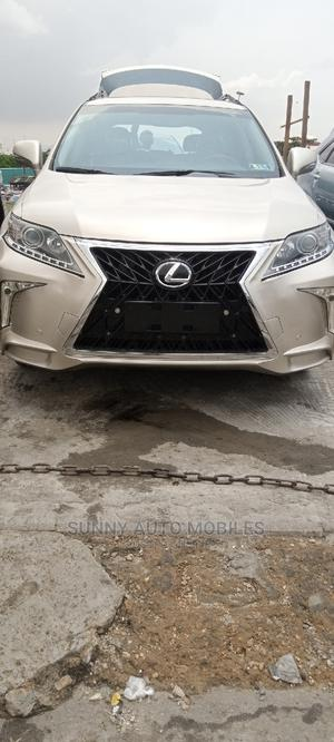 Lexus RX 2014 350 F Sport AWD Gold | Cars for sale in Lagos State, Apapa