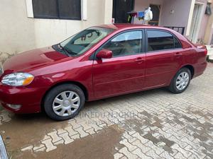 Toyota Corolla 2005 LE Red | Cars for sale in Abuja (FCT) State, Mabushi
