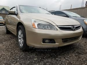 Honda Accord 2006 Sedan EX Automatic Gold   Cars for sale in Lagos State, Ojodu
