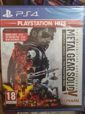 Metal Gear Solid Definitive Edition PS4 | Video Games for sale in Lagos State, Alimosho