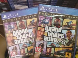 GTA v Premium Edition Ps4 | Video Games for sale in Lagos State, Alimosho