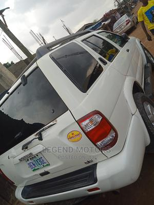 Nissan Pathfinder 2002 LE AWD SUV (3.5L 6cyl 4A) White | Cars for sale in Lagos State, Alimosho