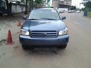 Toyota Highlander 2005 Limited V6 Blue | Cars for sale in Lagos State, Abule Egba