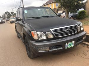 Lexus LX 2000 470 AWD Black | Cars for sale in Lagos State, Abule Egba
