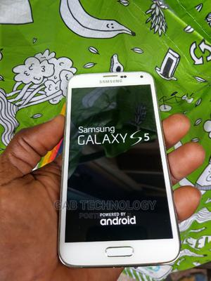 Samsung Galaxy S5 16 GB White   Mobile Phones for sale in Lagos State, Ikeja