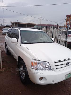 Toyota Highlander 2005 Limited V6 Off White | Cars for sale in Lagos State, Ifako-Ijaiye