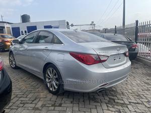 Hyundai Sonata 2013 Silver   Cars for sale in Lagos State, Ikeja