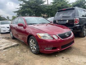 Lexus GS 2006 300 Automatic Red   Cars for sale in Lagos State, Ogba