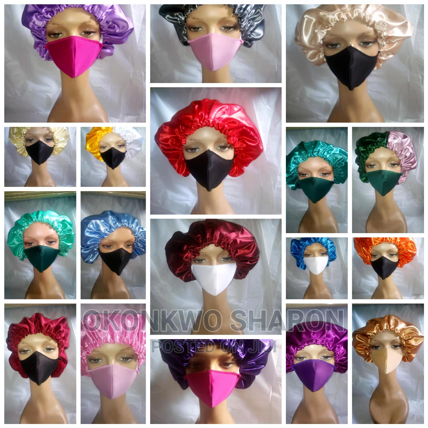 Best Quality of Silk N Satin Hair Bonnets in Wholesale